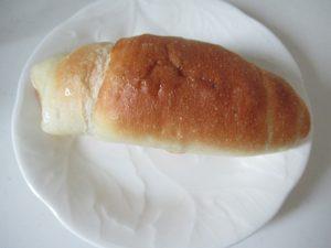 ヘルシオであたためた塩パン