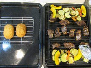 調理+惣菜あたため