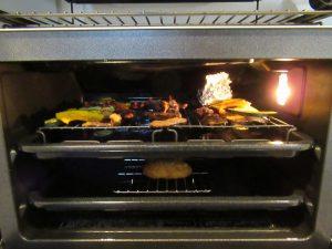 惣菜のあたため二段調理