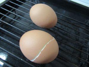 できあがったゆで卵