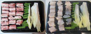 豚バラ肉の蒸し物