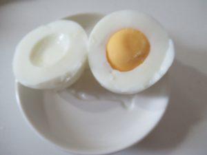 ゆで卵の中身