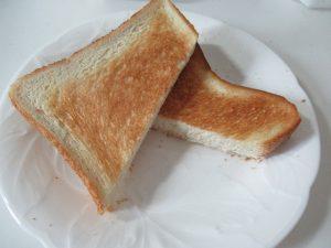バルミューダで焼いたトースト2