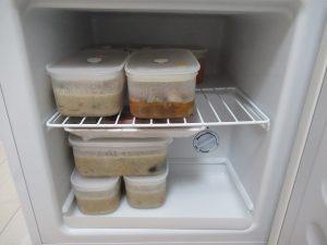 ホットクック用冷凍庫中身