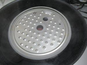 内鍋に重曹