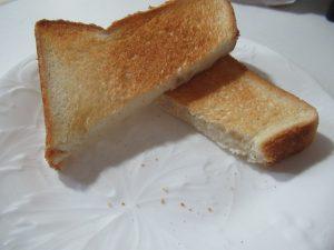 炙り6分間トースト