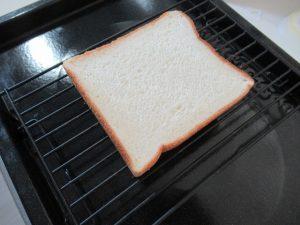 焼かれる前のトースト